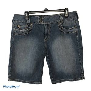 Apt 9 Jean Denim Shorts Size 12